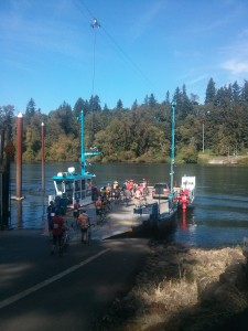 cyclists-on-canby-ferry