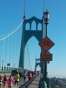 このSt. John's 橋を渡れるのを楽しみに頑張るわ〜!