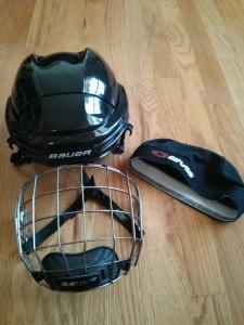 Bauerのヘルメット