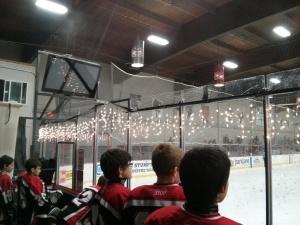 Winterhawks Skating Centerのクリスマスの飾り付け
