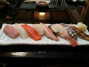 旬のお寿司