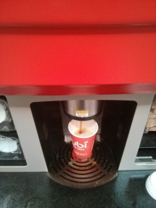 コストココーヒー自動販売機