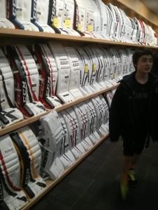 The Hockey Shop店内