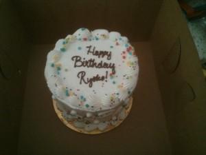 bliss cakeで買ったケーキ