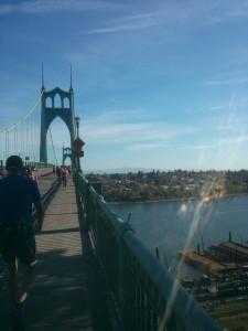 St Johns Bridge長い〜