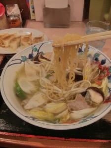 野菜タップリ、さっぱりラーメンです。毎日食べたいわー。