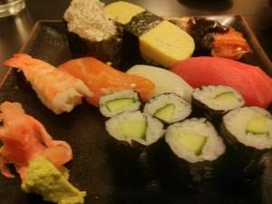 カニマヨ多すぎたけど、イカが美味しかった〜!