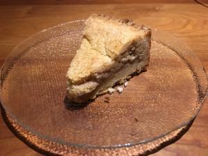 ガトーバスク。バスク地方の伝統的なケーキ。アーモンドパウダーで濃厚な味。