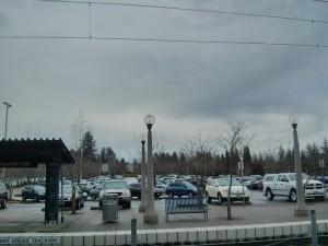 今日はラッキーなことに唯一残ってた駐車スペース確保できた〜