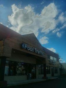 Foot Traffic。ポートランドダウンタウンにもあるけど、近所のシーダーミルにもできたの。