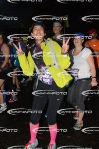 マラソンサイトから写真を拝借してまーす。スタート前の楽しそうな顔!