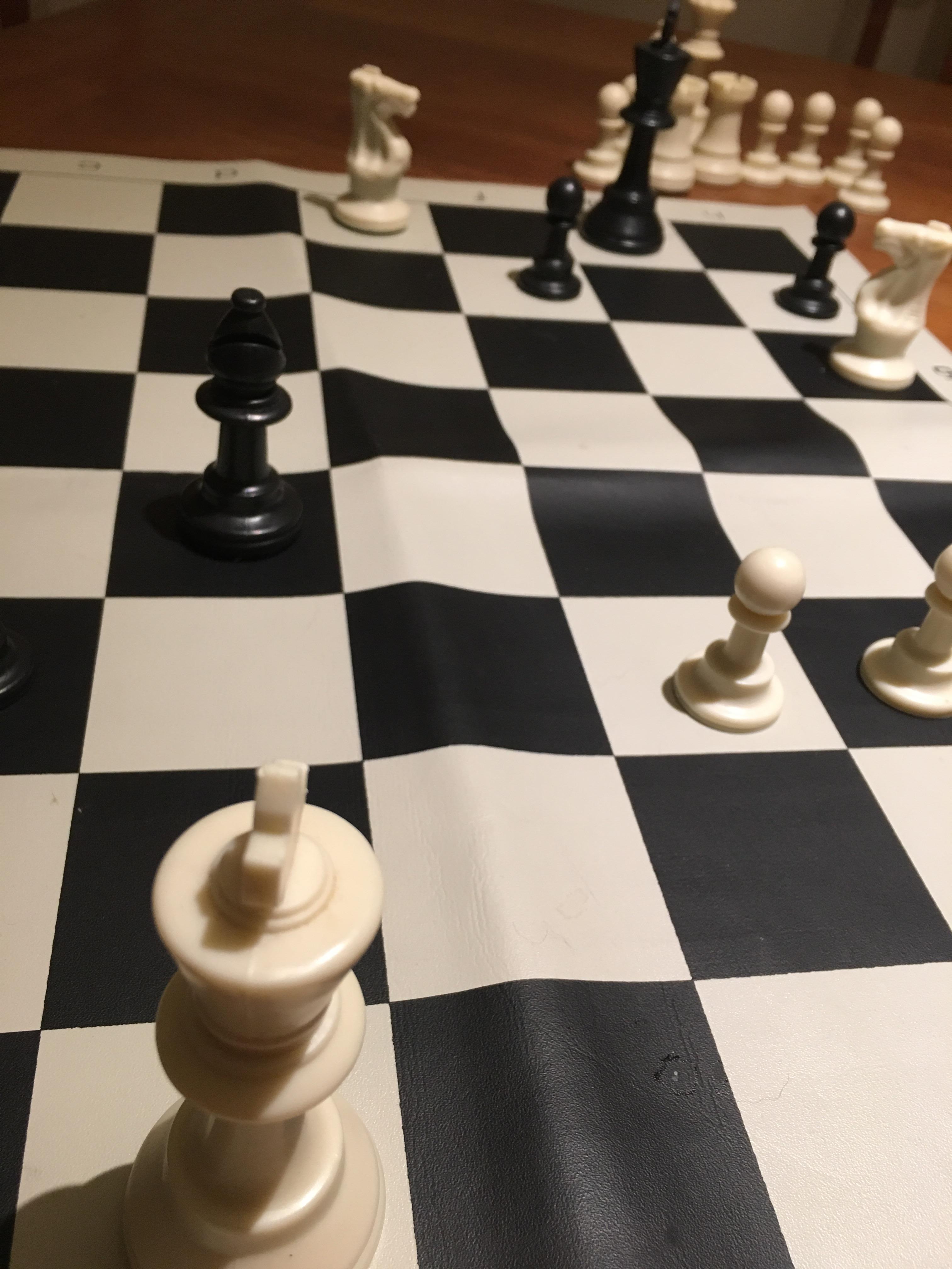 チェス、初勝利の瞬間